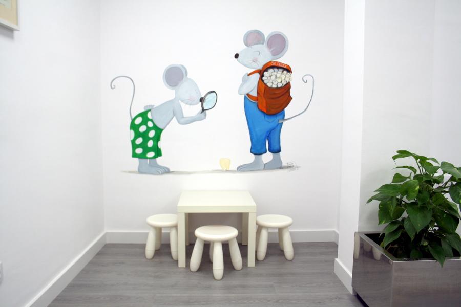 sala de espera zona infantil