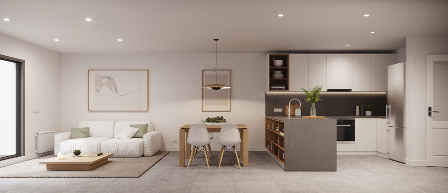 Sala de estar / cocina
