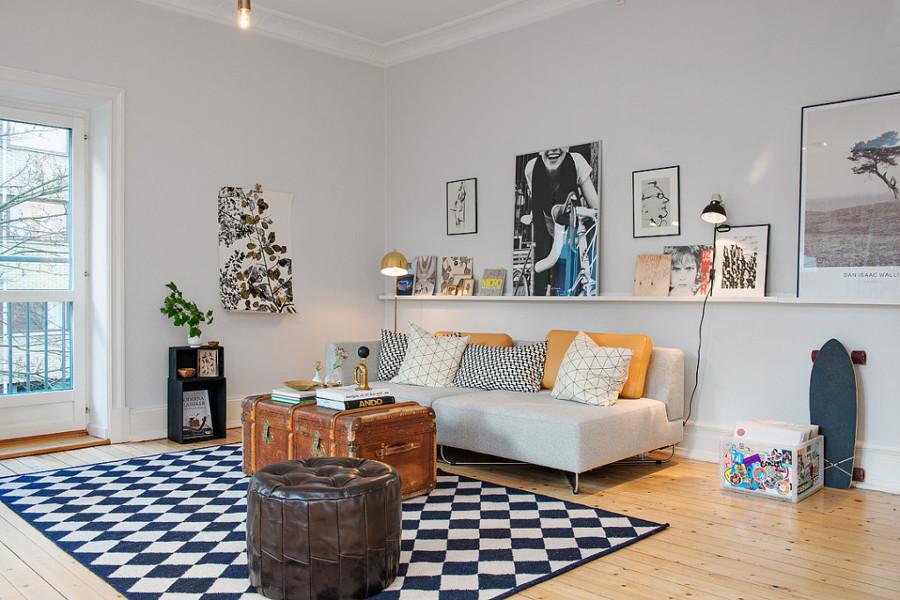 C mo exponer obras de arte en tu casa ideas decoradores - Cuadros y laminas ikea ...