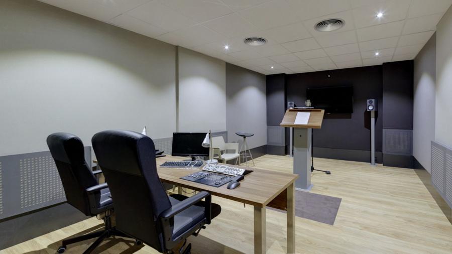 Reforma y construcci n de las nuevas oficinas y estudios - Insonorizar estudio ...