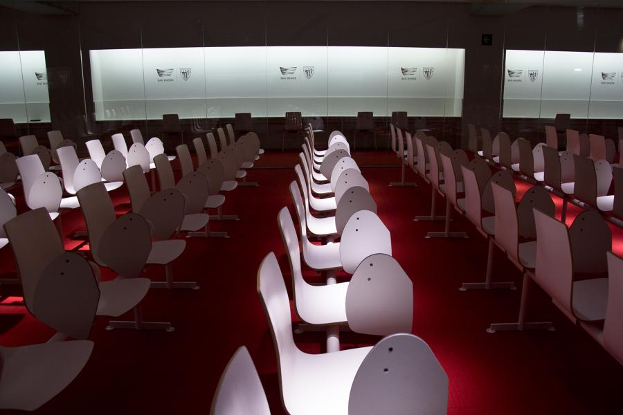 Sala de prensa Nuevo San Mamés