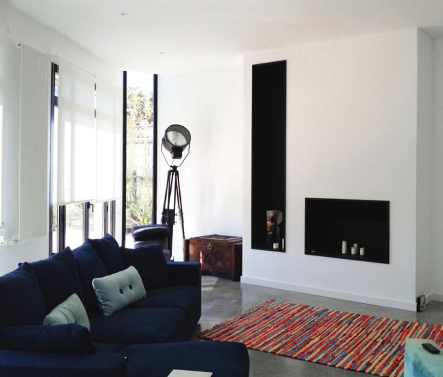 Salón-interior-Casa-A-08023-Arquitectos-Barcelona