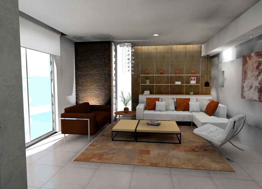 Proyecto integral dise o de interiores y exterior vivienda - Proyecto diseno de interiores ...