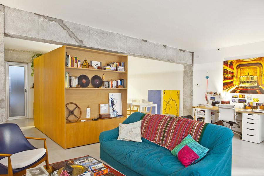 De piso abandonado a reforma funcional y llena de frescura for Frescura spa