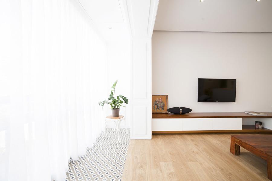 Un piso antiguo reformado para una pareja joven ideas for Ideas para reformar un piso antiguo