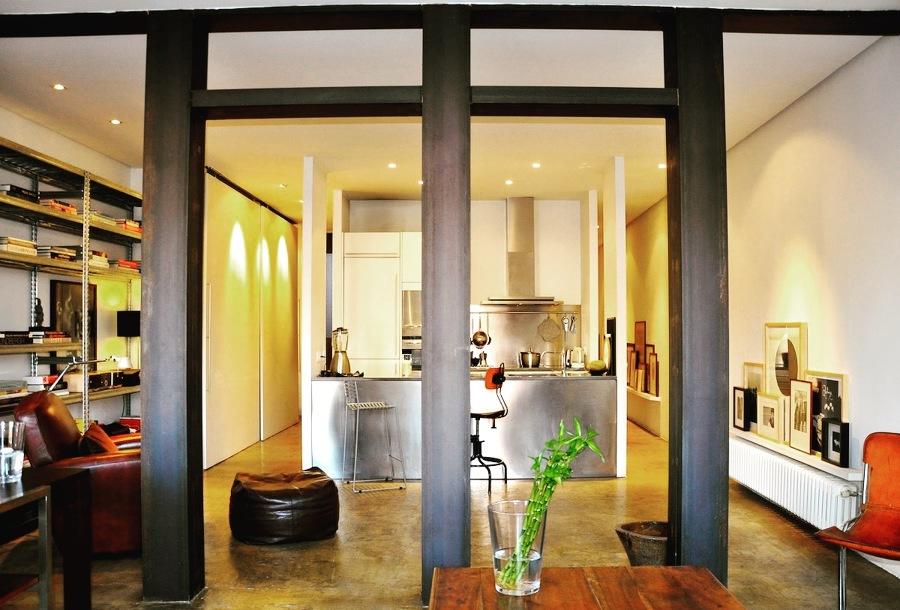 Un loft de estilo neoyorquino en el centro de madrid - Decoradores en madrid ...