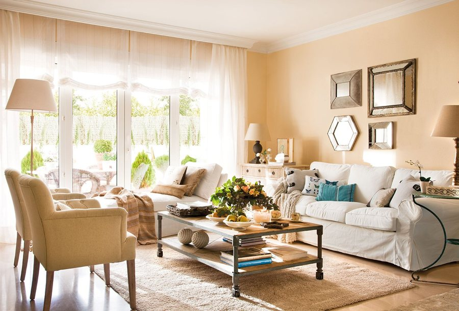 5 ideas para decorar tu casa con espejos ideas decoradores - Espejos grandes para salon ...