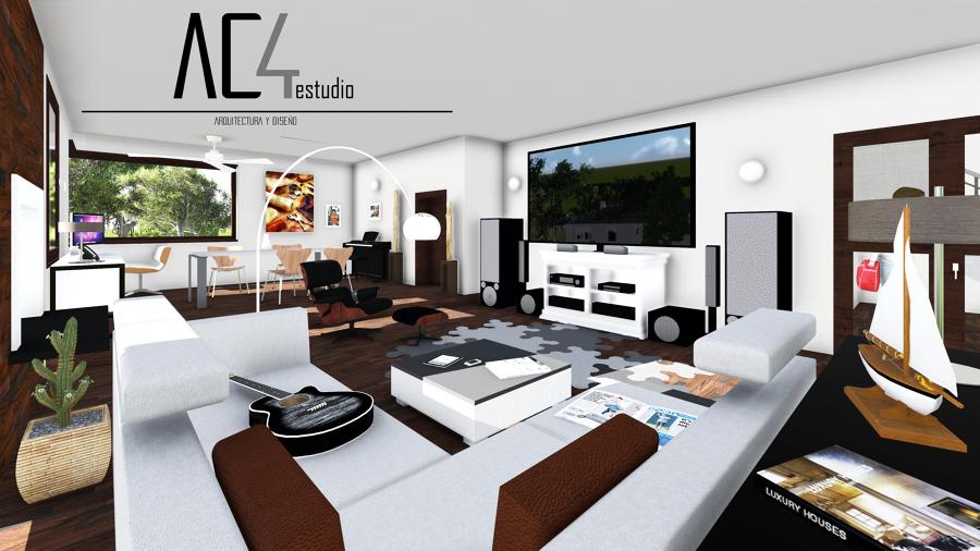 Foto sal n de ac4 estudio arquitectura y dise o 987717 for Estudio de arquitectura y diseno