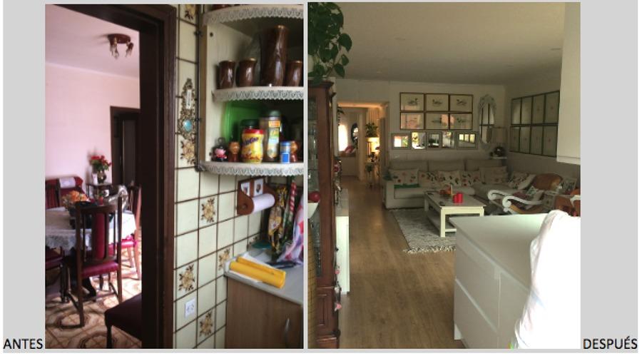 Salón antes / después