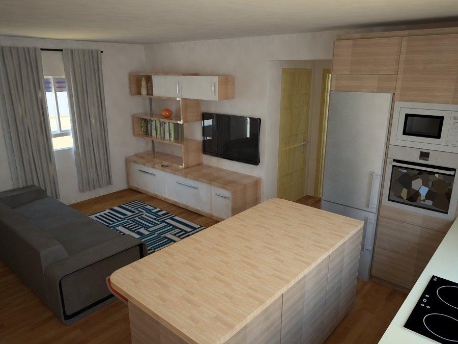 Salón -cocina propuesta 1