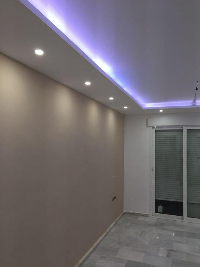 Techo con iluminacion indirecta de led ideas pladur - Iluminacion indirecta led ...