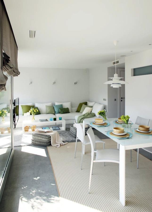 Salón - Comedor - Acceso vivienda