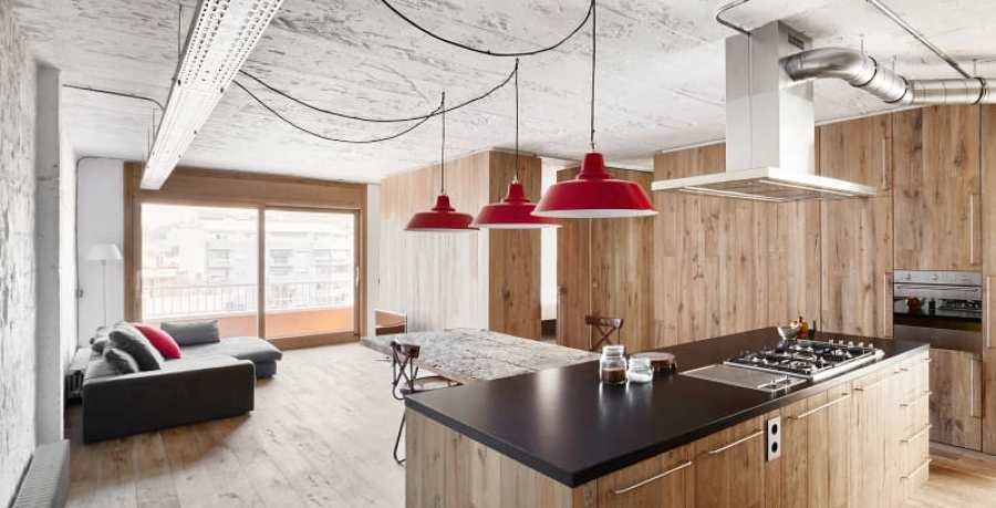 salon comedor con luz - Ecosia