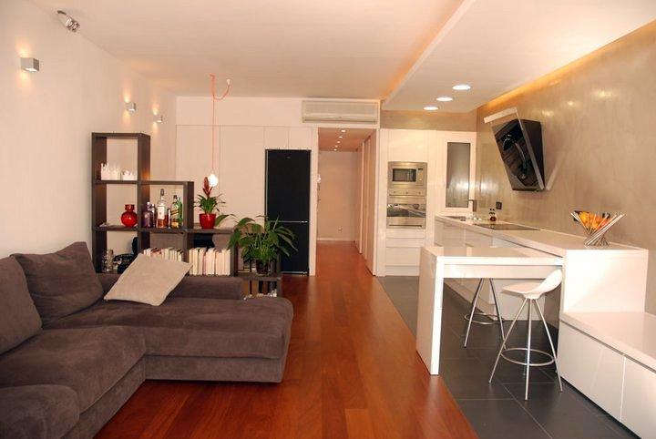 Foto sal n comedor cocina de smarthome 159197 for Cocina y salon unidos