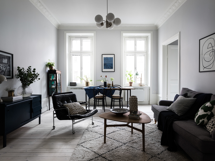 Foto sal n comedor estilo n rdico de cobos 1715326 for Salon comedor estilo nordico