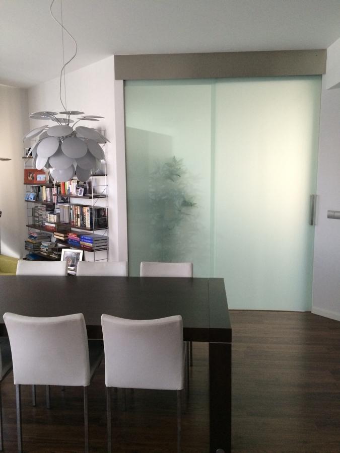 Salón, comunicación con cocina
