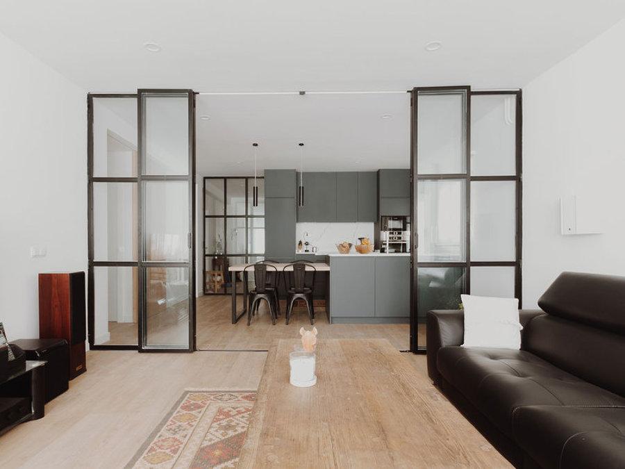 Antes y despu s 5 reformas que te dejar n con la boca abierta ideas reformas viviendas - Tabiques de cristal para viviendas ...