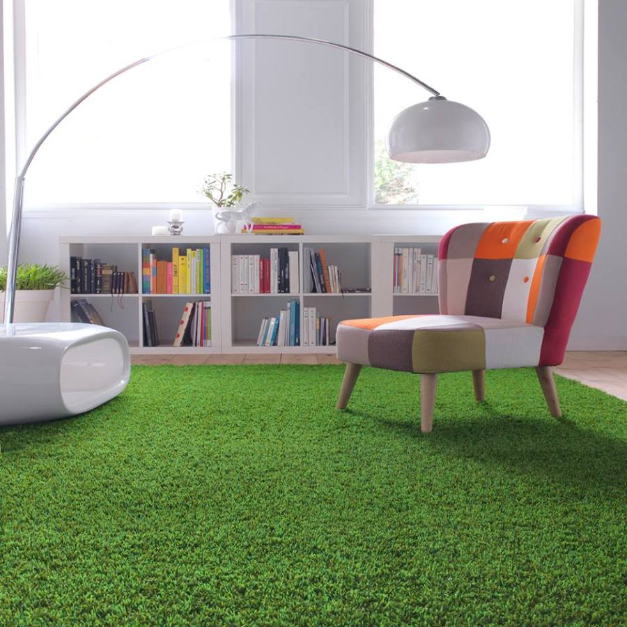 5 ideas para usar césped artificial en interiores | ideas decoradores