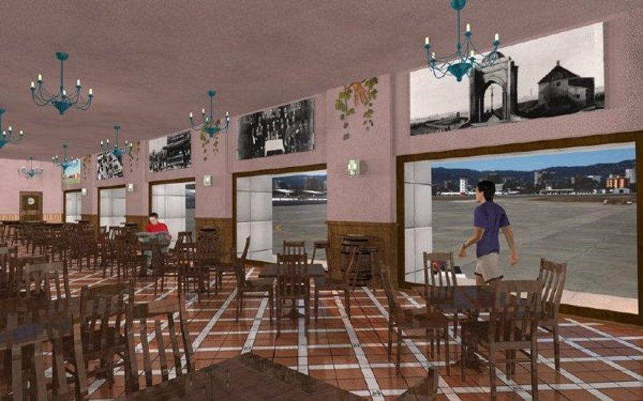 salón de cafeteria