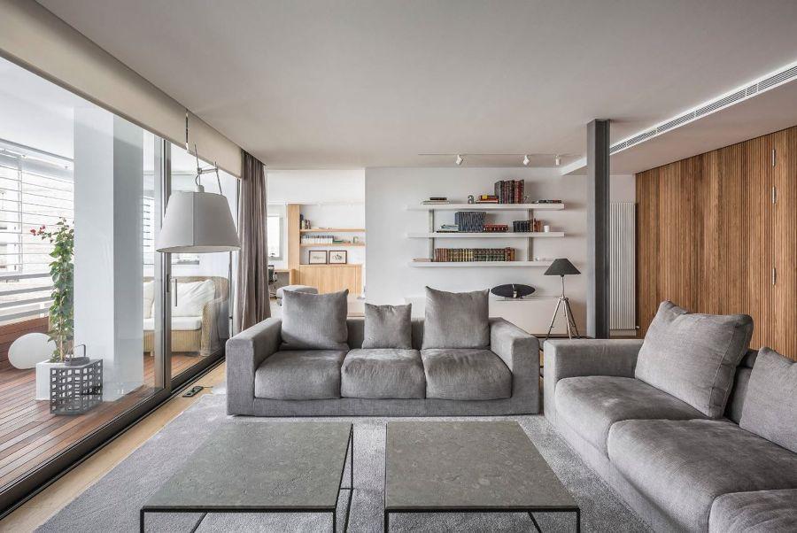 salón de estilo moderno