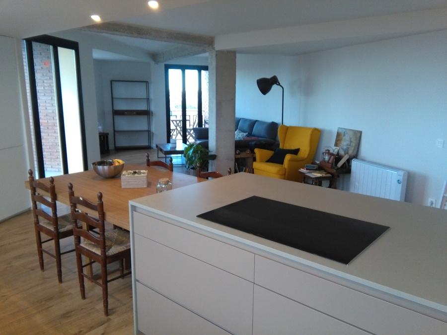 Salón desde cocina