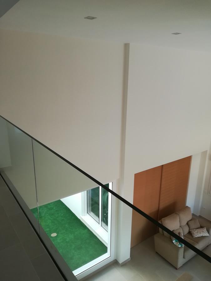salón doble altura