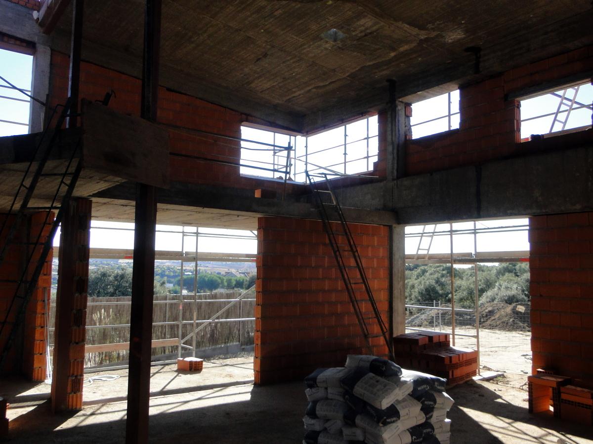 Foto salon doble altura y porche de manayecto 158451 - Salon doble altura ...