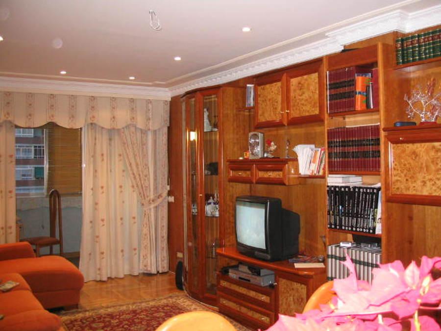 Salon en madera y escayola