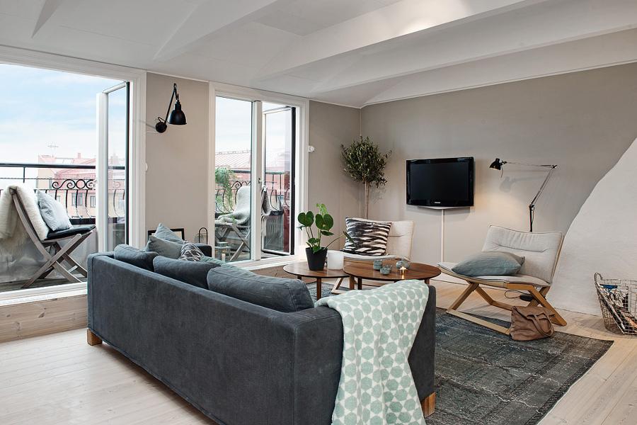 Consejos pr cticos para decorar tu casa por primera vez - Salones en tonos grises ...