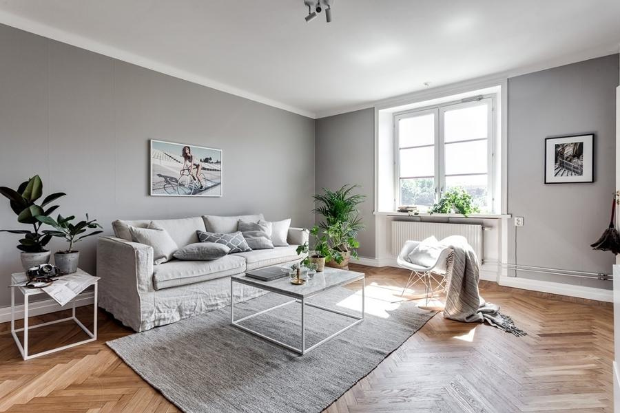 Foto sal n en tonos grises de miv interiores 1277719 habitissimo - Miv interiores ...