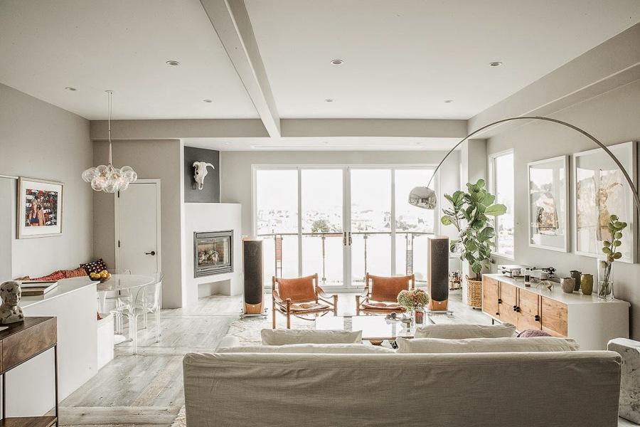 Consejos pr cticos para decorar tu casa por primera vez - Salones decorados en blanco ...