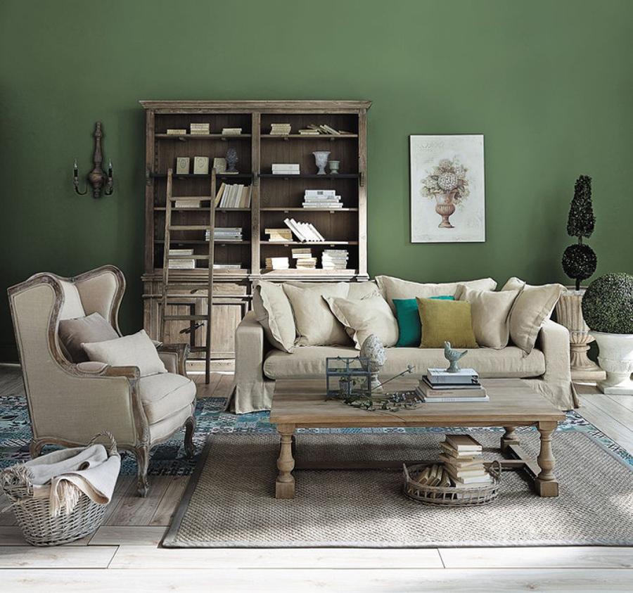 Pinta tu casa seg n la psicolog a del color ideas - Paredes en verde ...