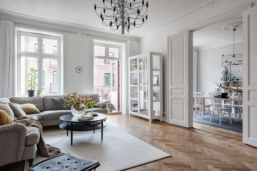 8 claves para convertir tu casa al estilo n rdico ideas - Salones estilo escandinavo ...
