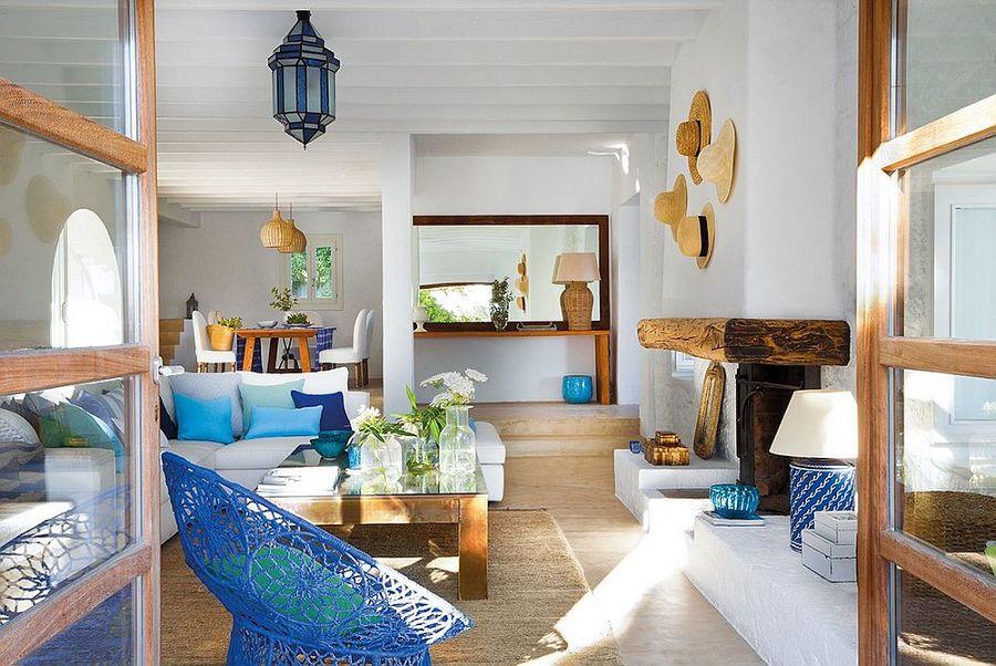 C mo tener un sal n m s fresco ideas decoradores - Salon mediterraneo ...