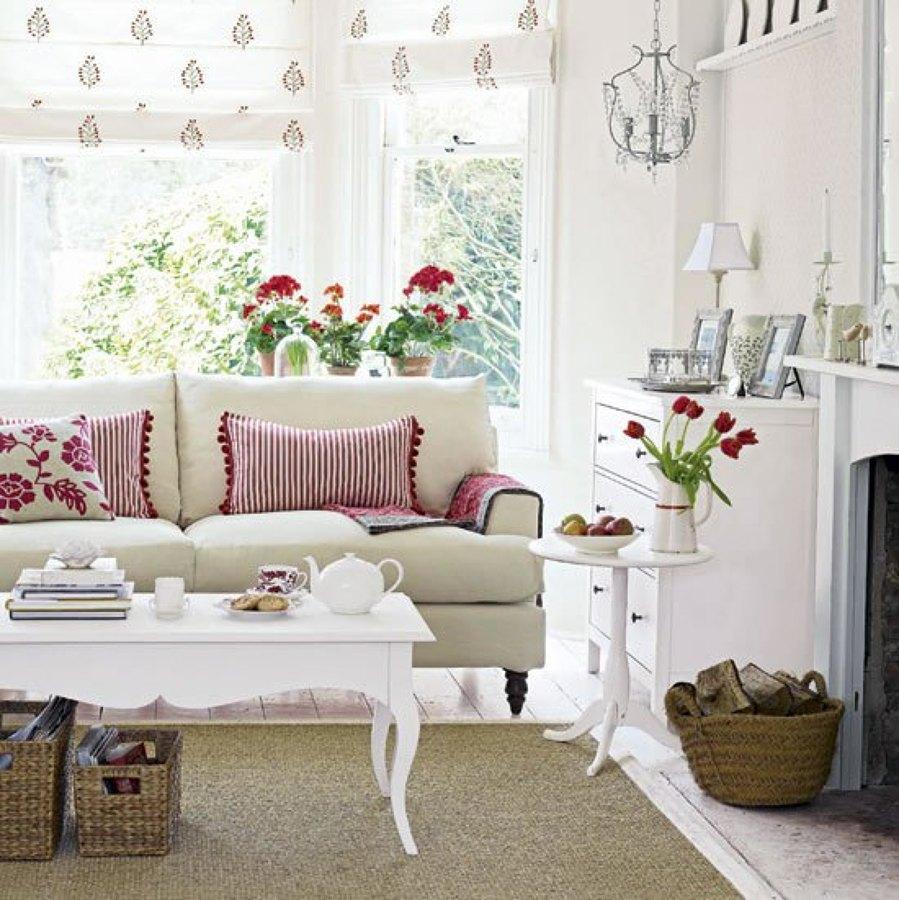 Foto Salon Estilo Romantico 970757 Habitissimo - Decoracion-estilo-romantico