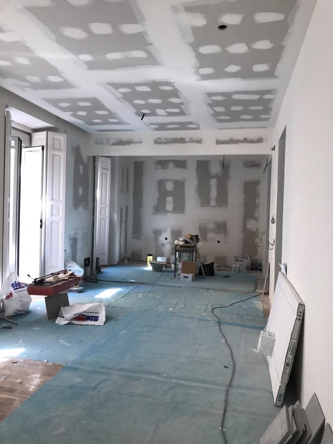 Salón (Fase de obra)