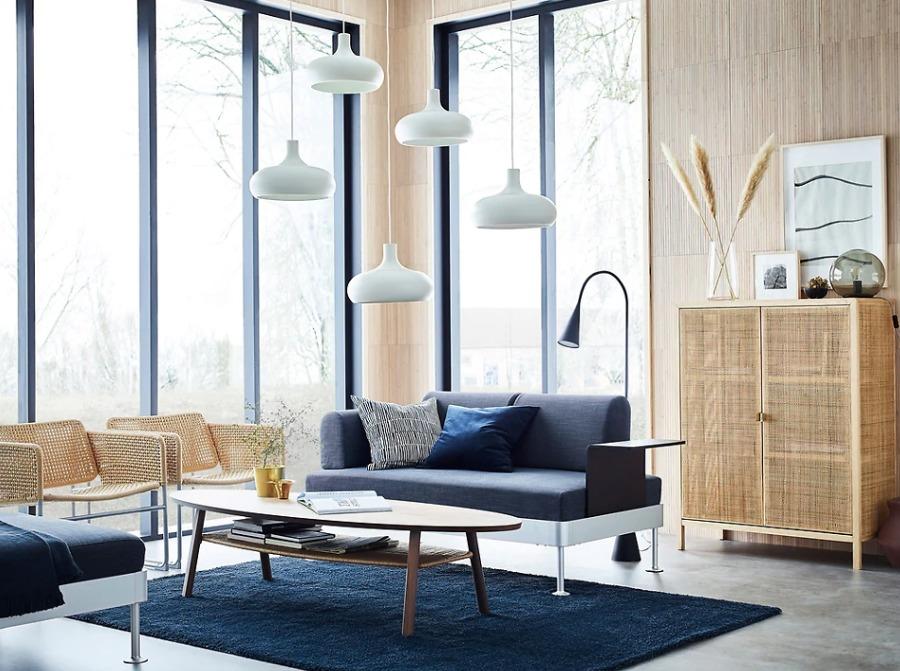 Salón IKEA funcional