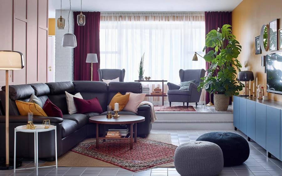 Salón IKEA urbano