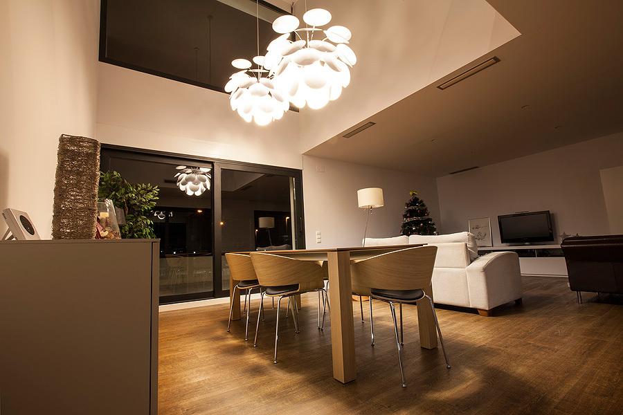 salón madera diseño