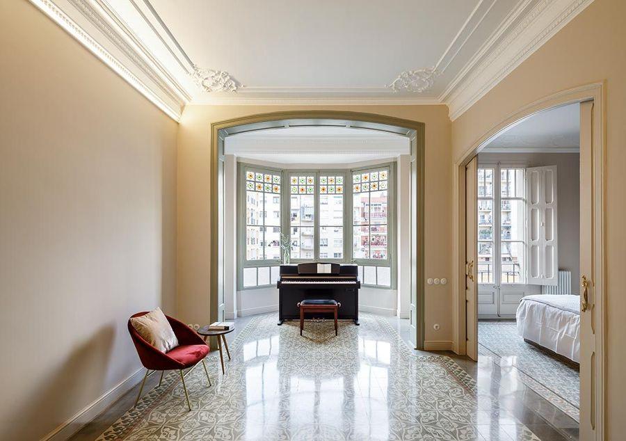Salón modernista