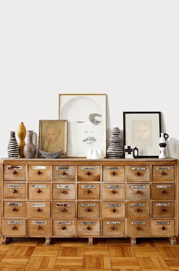 salón mueble boticario