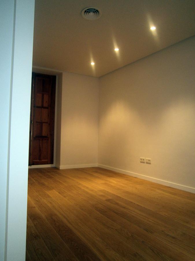 Salón- parquet madera