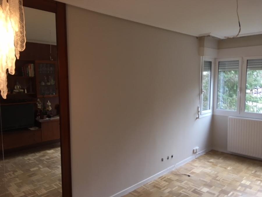 Salón pintado y terminado