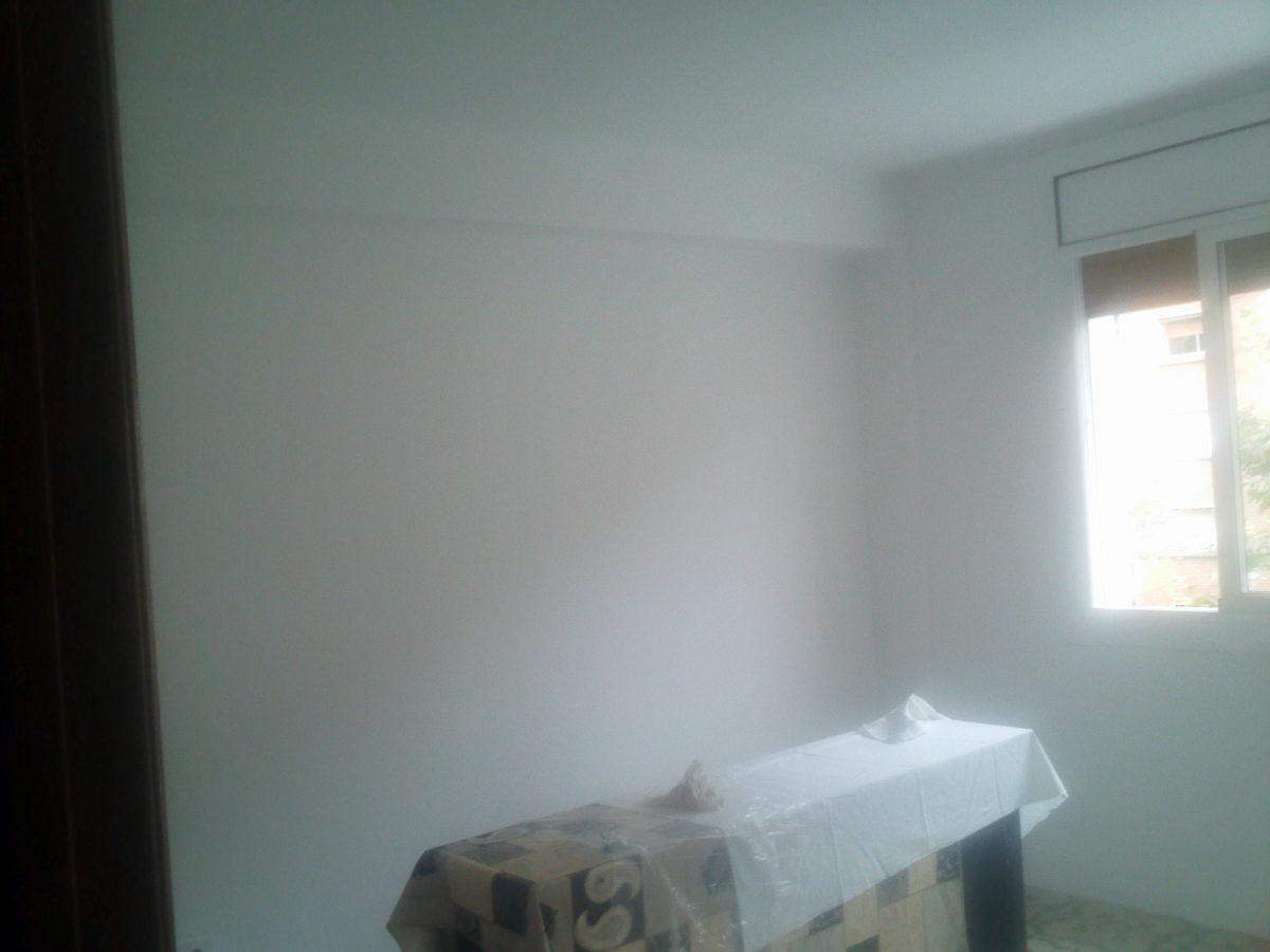 Salón principal sin gotelé y pintado