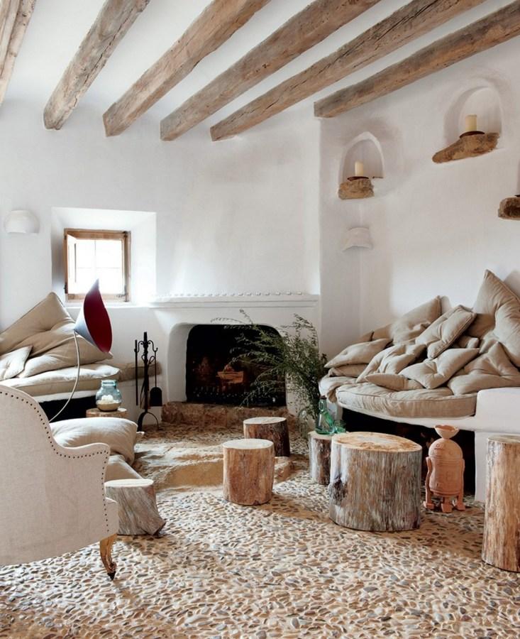 Foto Salon Rustico Con Techos De Madera De Marta 1509509 Habitissimo - Salon-rustico