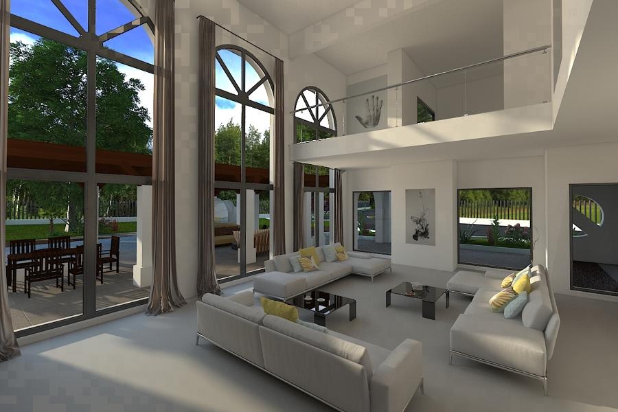Salón vivienda en benahavis