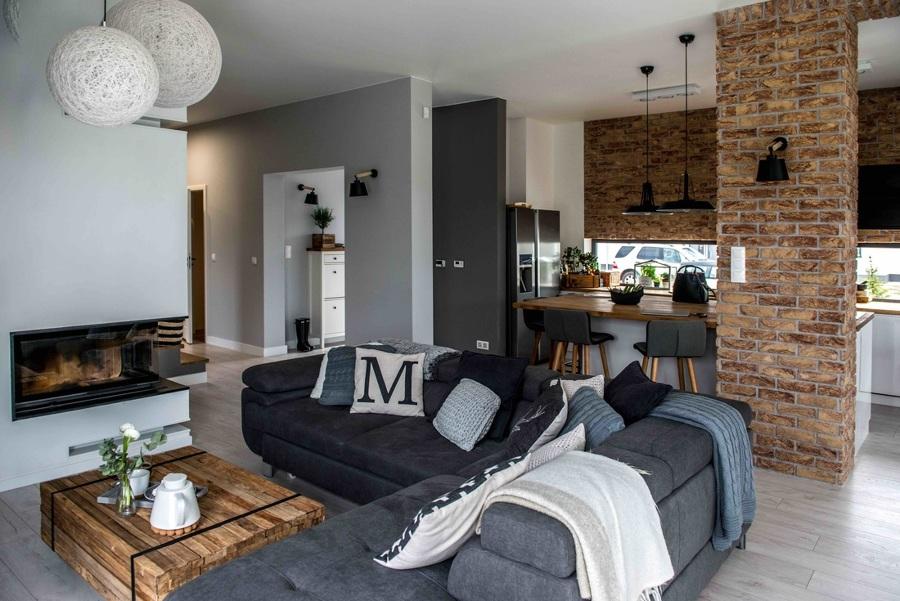 C mo darle un look moderno a tu casa ideas decoradores for Cocinas y salones abiertos
