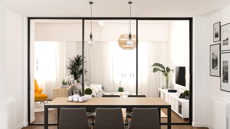 Salón y comedor