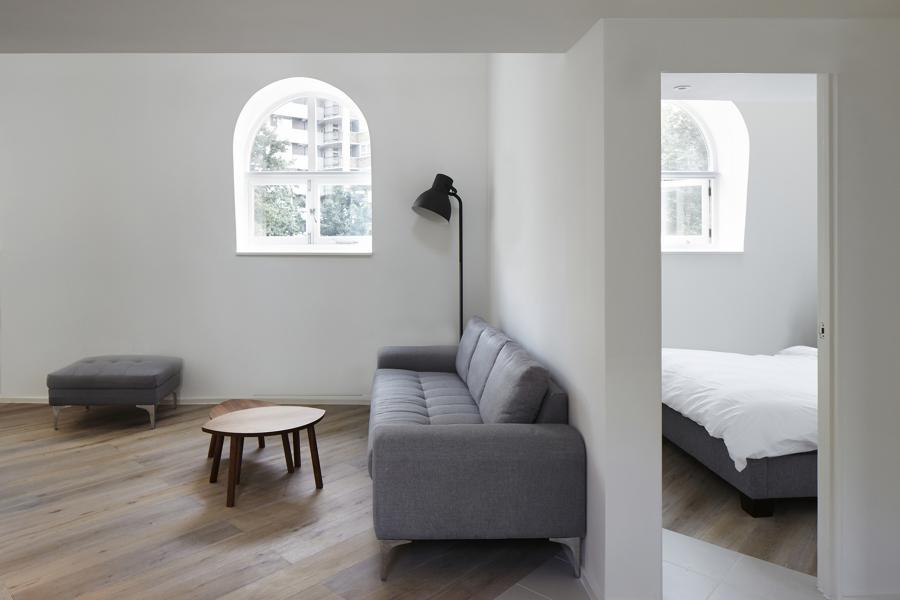 salon y dormitorio