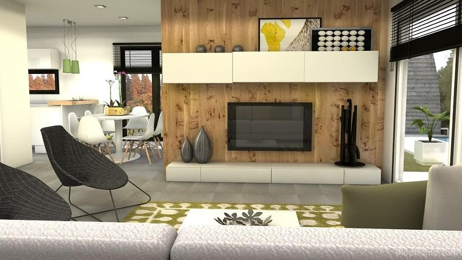 Foto sal n zona de estar de voil interiores 921221 - Salones de estar ...